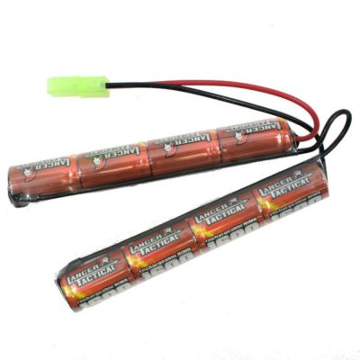 BATTERIE 9.6V 1600MAH NIMH - LANCER TACTICAL