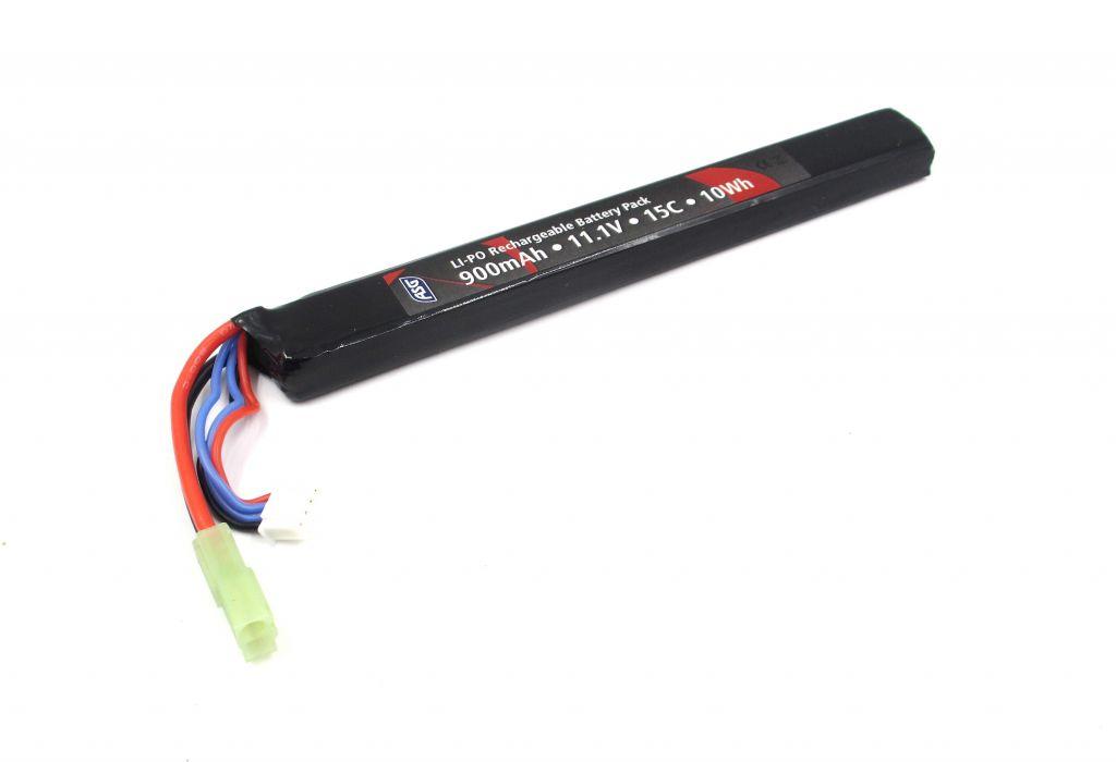 Batterie LiPo (11.1v 900mAh) (15C) - ActionSportGames
