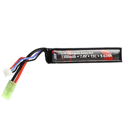 BATTERIE LIPO 7.4V 1300MAH 15C [ACTIONSPORTGAMES]