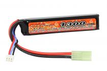 BATTERIE LIPO 7.4V 1300MAH 15C 1 STICK - VB POWER