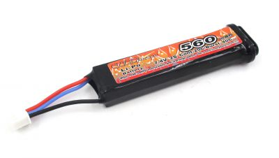 BATTERIE LIPO 7.4V 560MAH - AEP - VB POWER