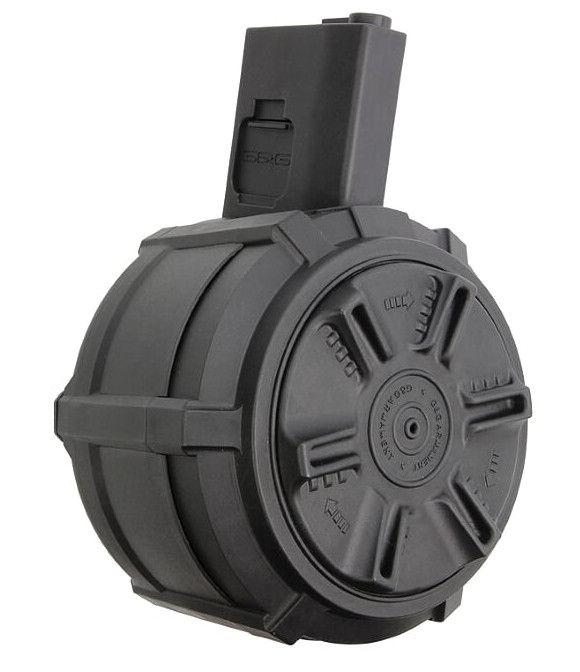 CHARGEUR DRUM 2300RD AR15/M4 - AUTO [G&G ARMAMENT]