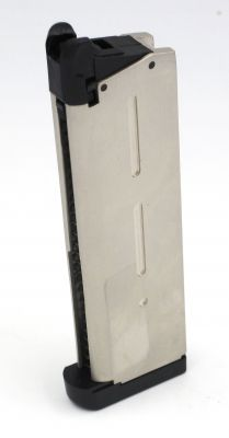 CHARGEUR GREEN GAS 1911/KP-07 - SILVER [KJW]