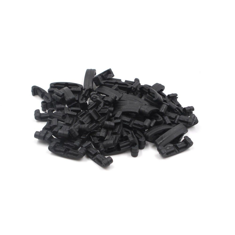 Couvres rails (Low Profile) Noir 60pcs - FMA