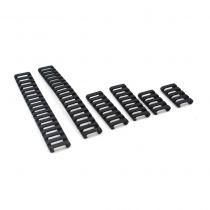 Couvres rails (Soft) Noir 6pcs - FMA