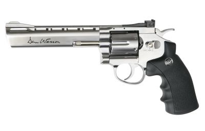 "DAN WESSON 6"" LOW POWER - SILVER [ASG]"
