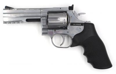 "DAN WESSON 715 4"" HIGH POWER - SILVER - ASG"