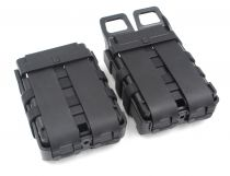 DOUBLE POCHE FASTMAG - M4 - BK [FMA]