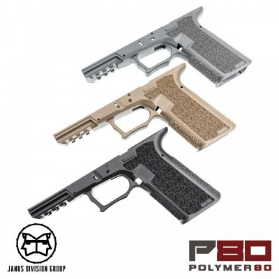 FRAME POLYMER80 GEN3 POUR REPLIQUE GLOCK WE/TM JANUS DIVISION GROUP - POSEIDON