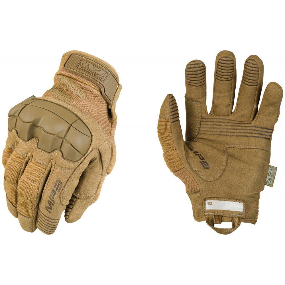 Gants d\'intervention coqués M-Pact 3 (Dark Earth) - Mechanix Wear