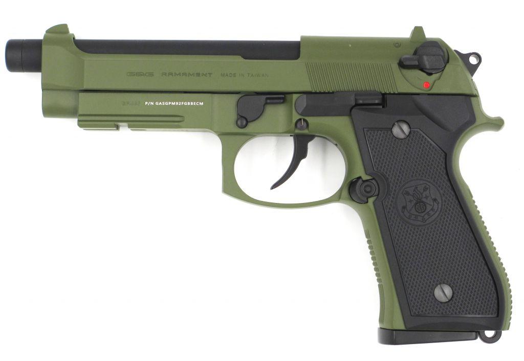 GPM92 GBB - GREEN GAS [G&G ARMAMENT]