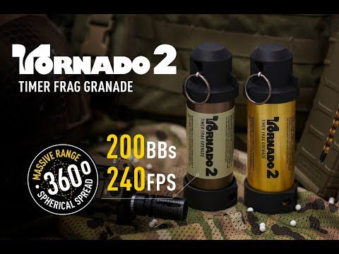 GRENADE TIMER TORNADO 2 - AIRSOFT INNOVATION