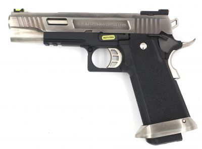 HI-CAPA 5.1 CUSTOM FORCE GBB - GREEN GAS - SILVER/NOIR [WE]