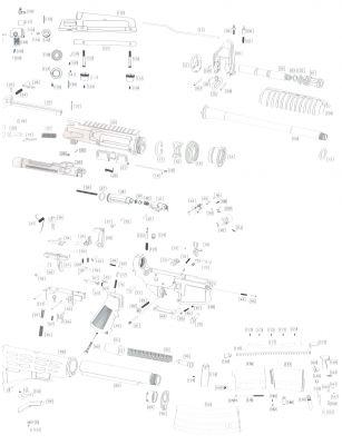 KNOCKER (PART N°62) - M4 - WE