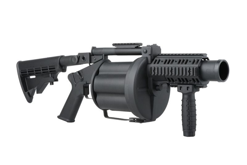 Lance grenade MGL (Multiple Grenade Launcher) - ICS Airsoft