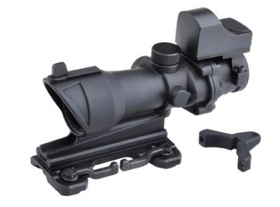 LUNETTE DE VISEE 4X32 POINT ROUGE ACOG ET RMR - AIM-O