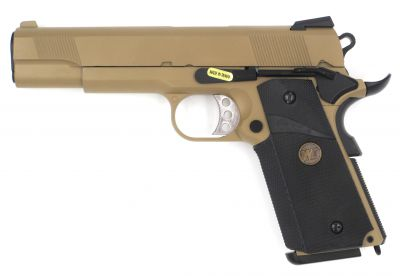 M1911 MEU GBB - GREEN GAS - COYOTE TAN [WE]
