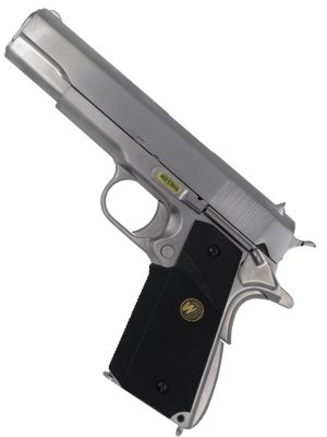 M1911 MEU GBB - GREEN GAS - SILVER - WE