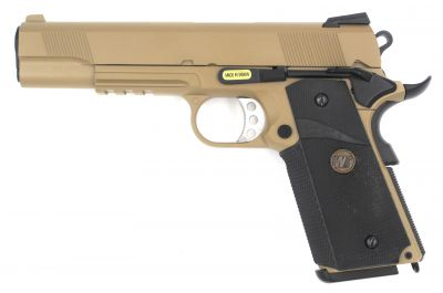 M1911 MEU TACTICAL GBB - GREEN GAS - COYOTE TAN [WE]