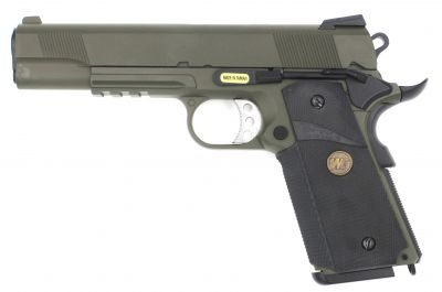 M1911 MEU TACTICAL GBB - GREEN GAS - OLIVE DRAB [WE]