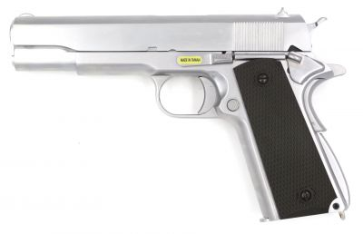 M1911 V3 GBB - GREEN GAS - SILVER [WE]