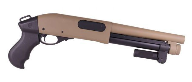 M870 SHORTY GRIP - GREEN GAS - 3-6 BURST - GOLDEN EAGLE