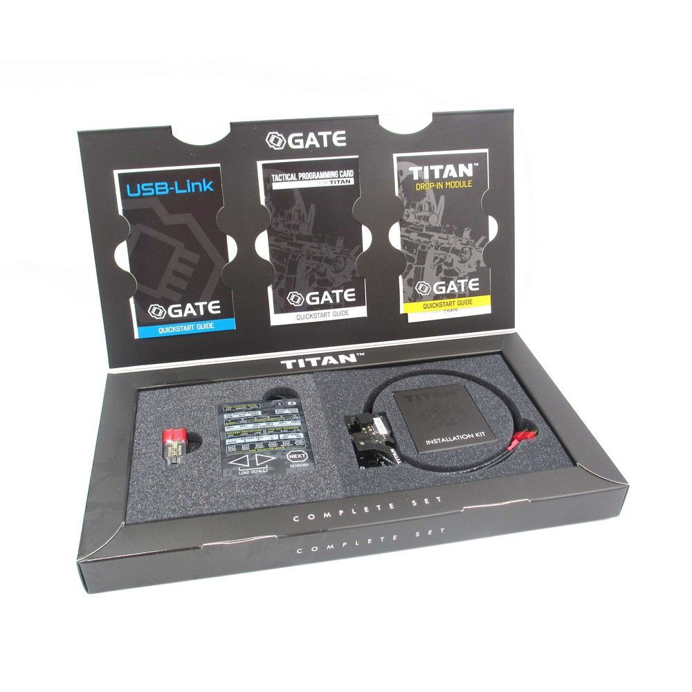 Mosfet Titan (Arrière) Gearbox Version 2 Series - Gate