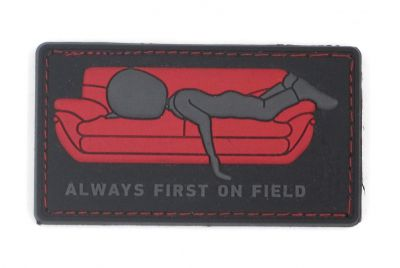 PATCH 3D - ALWAYS FIRST ON FIELD - PVC - JTG