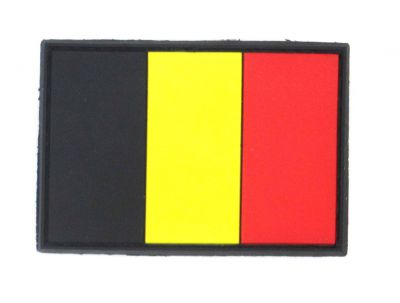 PATCH 3D - BELGIUM FLAG - PVC - JTG