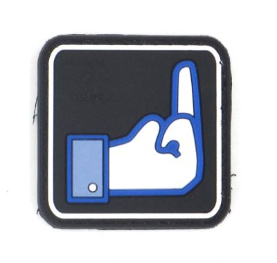 PATCH 3D - DISLIKE - PVC - JTG