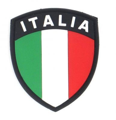 PATCH 3D - ÉCUSSON ITALIA - PVC - JTG