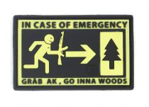PATCH 3D - EMERGENCY - PVC - JTG