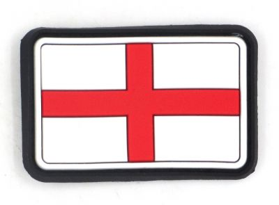 PATCH 3D - ENGLAND FLAG - PVC - JTG