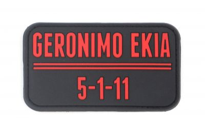 PATCH 3D - GERONIMO EKIA - PVC - JTG