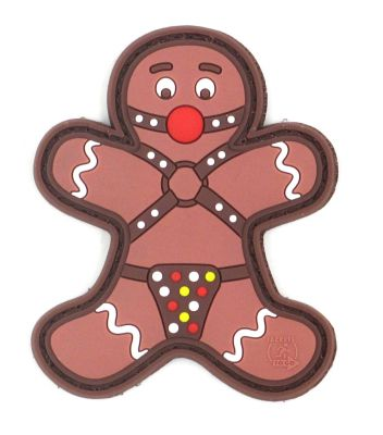 PATCH 3D - GINGERBREAD - PVC - JTG