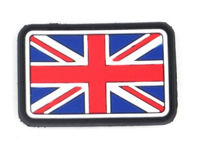 PATCH 3D - GREAT BRITAIN FLAG - PVC - JTG