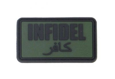 PATCH 3D - INFIDEL - PVC - JTG