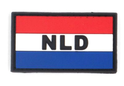 PATCH 3D - NETHERLANDS FLAG - PVC - JTG