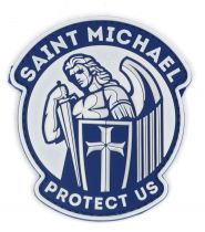 PATCH 3D - SAINT MICHAEL - PVC - JTG