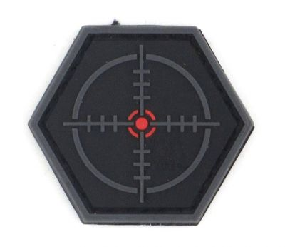 PATCH 3D - SNIPER SCOPE - PVC - JTG