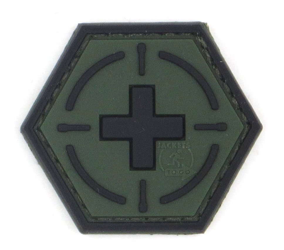 PATCH 3D - TACTICAL MEDIC - PVC - JTG