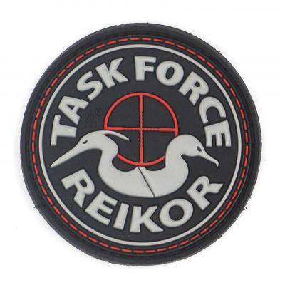 PATCH 3D - TASK FORCE REIKOIR - PVC - JTG