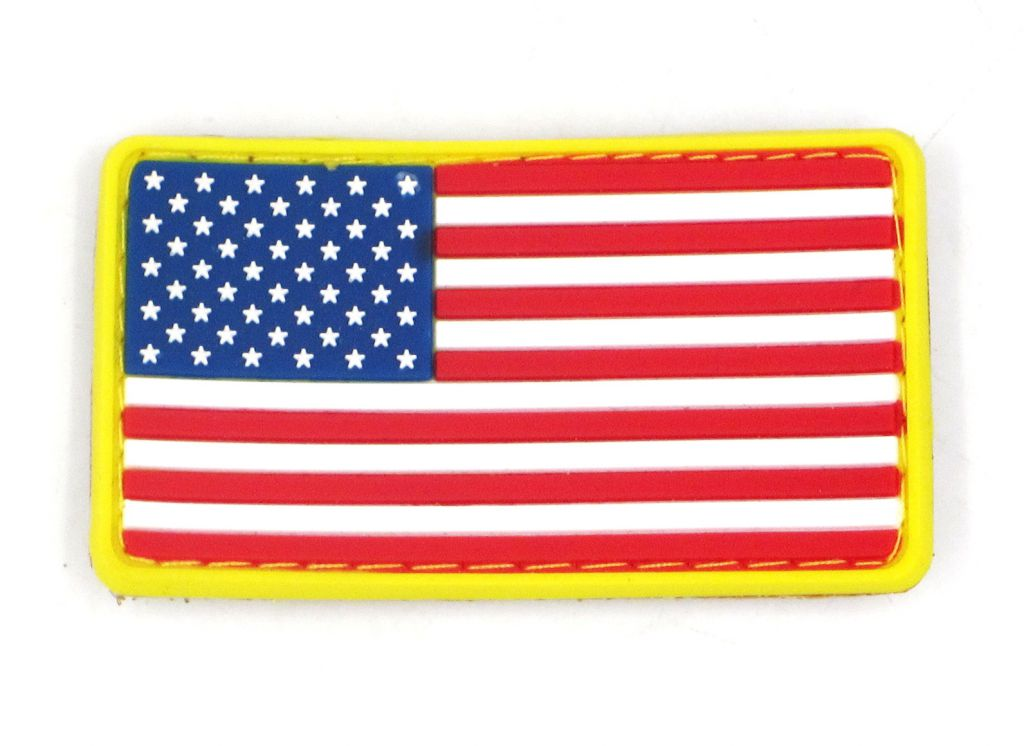 PATCH 3D - US FLAG - PVC - JTG