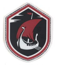 PATCH 3D - VIKING DRAGONBOAT - PVC - JTG