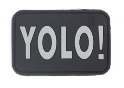 PATCH 3D - YOLO! - PVC - JTG