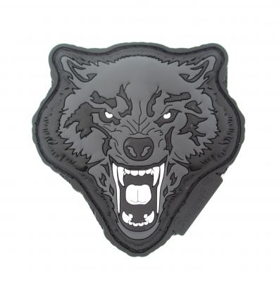 Patch 3D (Angry Wolf) PVC SWAT - JTG