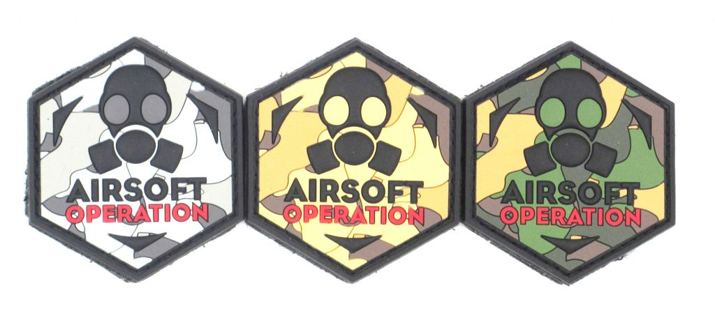 PATCH 3D AIRSOFT OPERATION LOGO
