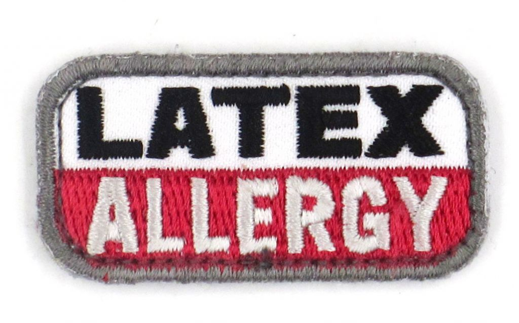 PATCH BRODE - LATEX ALLERGY - MSM