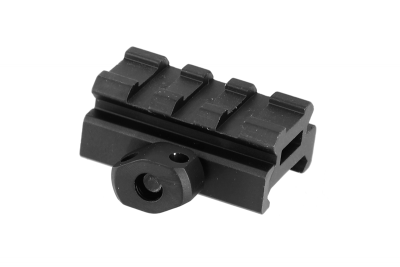 RAIL PICATINNY 3 SLOTS LOW PROFILE - VECTOR OPTICS