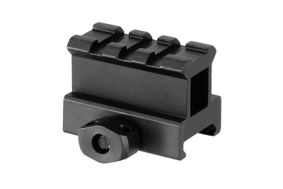 RAIL PICATINNY 3 SLOTS VERSION HIGH PROFILE - VECTOR OPTICS